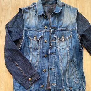 R13 Two Tone Denim Jacket